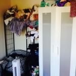 Strukturietres Schlafzimmer